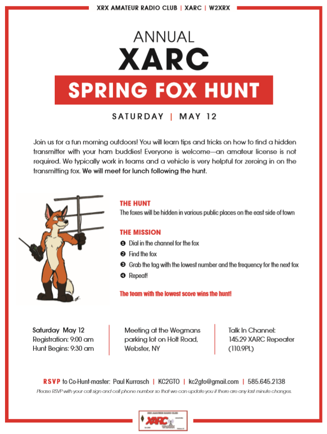 Fox Hunt Flyer